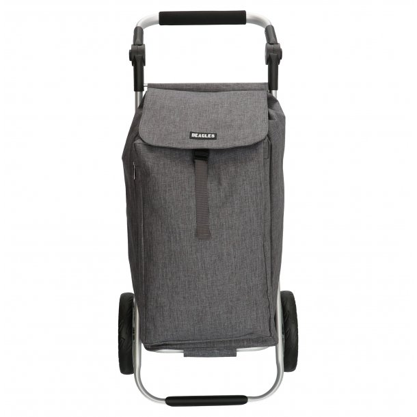 Shopping trolley - M. grå