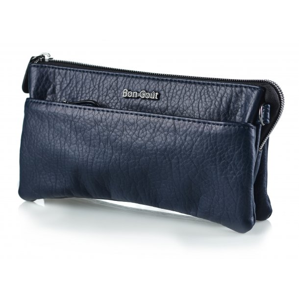 Clutch washed navy