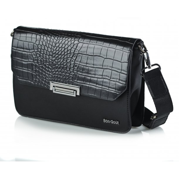 Crossbody croco sort