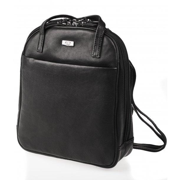 Combi taske/rygsæk sort