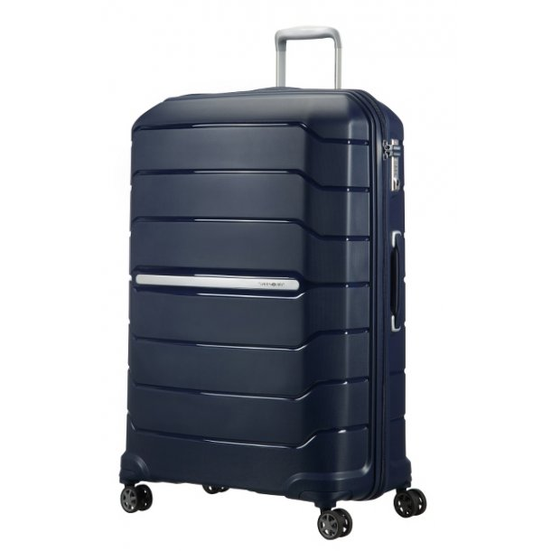 Samsonite Flux spinner - stor størrelse navy blue